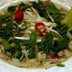 Asian Turkey Noodle Soup recipe