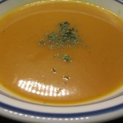Curry Ginger Butternut Squash Soup recipe