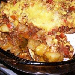 Mexican Potato Casserole recipe
