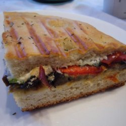 Roasted Vegetable Sandwich recipe