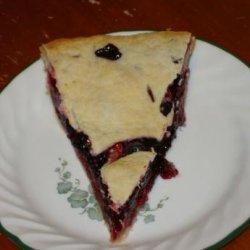 Triple Berry Pie - Delicious!! recipe