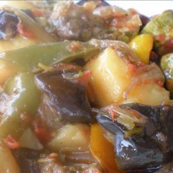 Roasted Vegetables With Lemon and Garlic (Briam) recipe