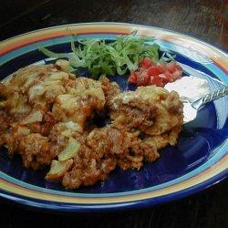 Pie a La Tamale recipe