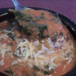 Tomato and Spinach Soup recipe