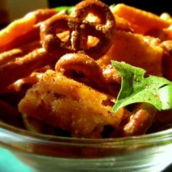 Hot and Spicy Chex Mix recipe