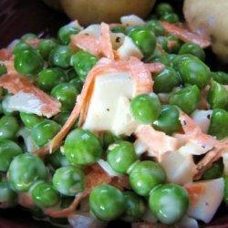 Mom's Pea Salad recipe