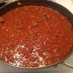 Chili Dog Sauce recipe
