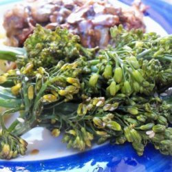 Steamed Broccolini With Honey Soy Sauce recipe