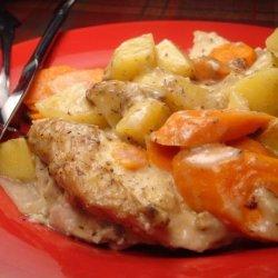 Chicken and Vegetable Casserole recipe