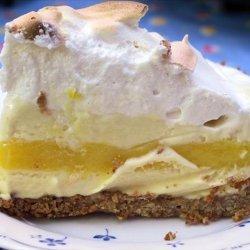 Lemon Meringue Ice Cream Pie recipe