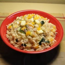 Healthy Couscous With Roasted Mediterranean Vegetables (Ww) recipe