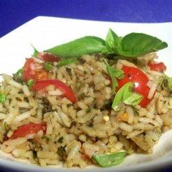 Pesto Rice recipe