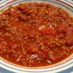 The Best Bowl of Chili I've Ever Had... recipe