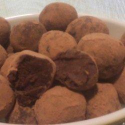 Dark Chocolate Red Wine Truffles recipe