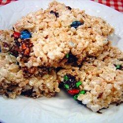 M&m Marshmallow Treats recipe