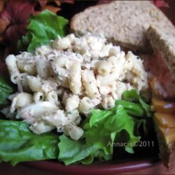 Macaroni and Tuna Salad - No  crunchies  recipe