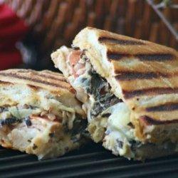 Panera Bread's Turkey Artichoke Panini recipe