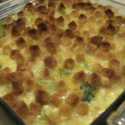 Corn and Broccoli Casserole recipe