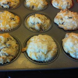 Bacon and Cheddar Muffins recipe