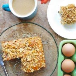 Apple Walnut Coffee Cake recipe