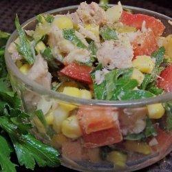 Corn Salad With Tuna recipe