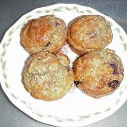 Magickal Banana Apple Raisin Oatmeal Bran Muffins recipe
