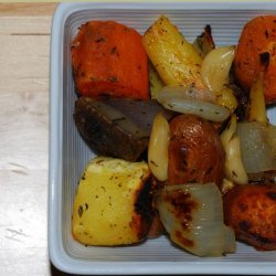 Rootin' Tootin' Roasted Roots - Roasted Root Vegetables in Paper recipe