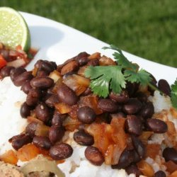 Cuban Black Beans and Rice (Quick) recipe