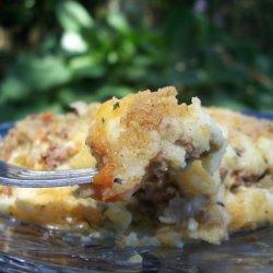 Potato and Beef Pie recipe