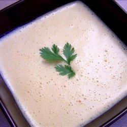 Cream of Green Chile Soup recipe