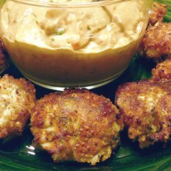Mini Crab Cakes with Remoulade Sauce recipe