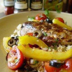 Hot Moroccan Chicken Salad recipe
