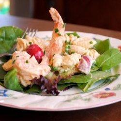 Creamy Seafood Pasta Salad recipe