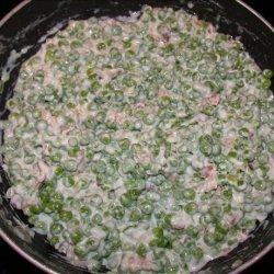 Company Green Peas Casserole recipe