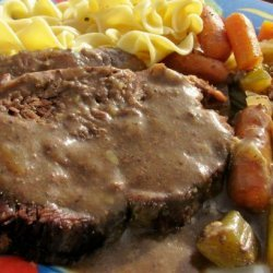 German-Style Beef Roast for the Crock Pot recipe