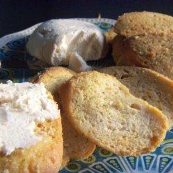 Garlicky Parmesan Bread Dip recipe