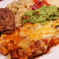 Cheese Enchiladas in Yummy Red Sauce recipe