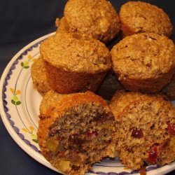 Oat Bran Muffins With Dried Fruit recipe