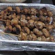 Mushroom Kabob Appetizers recipe