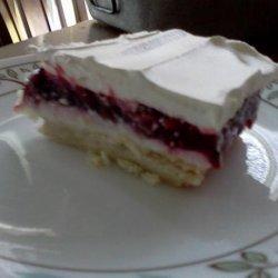 Blackberry Cream Cheese Dessert recipe