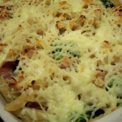 Pasta Bake With Sausage, Broccoli and Beans recipe