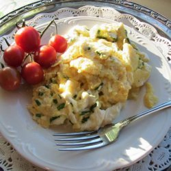 Cream Cheese Scrambled Eggs recipe