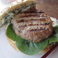 Grilled Pork Burgers Indochine recipe