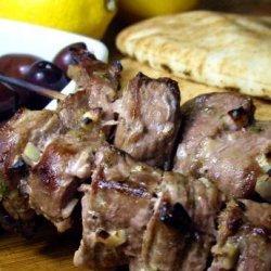 Greek Lamb Brochettes recipe