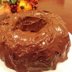 Chocolate Pound Cake With Chocolate Glaze recipe
