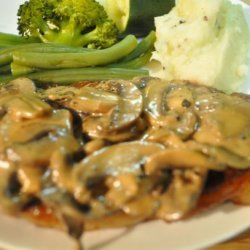 Steaks in Mushroom Cream Sauce recipe