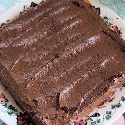 Low Sugar Chocolate Frosting recipe