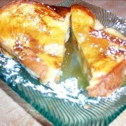 Banana French Toast Sandwich recipe