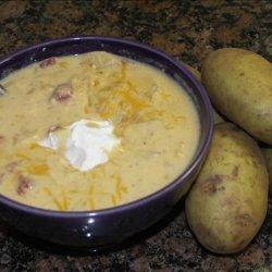 Nacho Potato Soup recipe