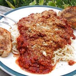 Italian Cooking Sauce Mix recipe